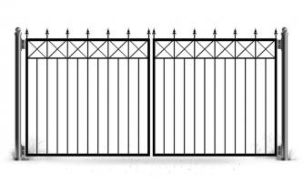 Ворота распашные vt-130-1