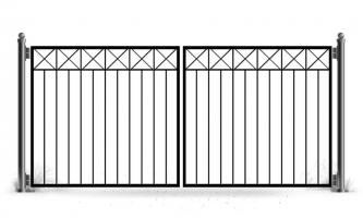 Ворота распашные vt-130
