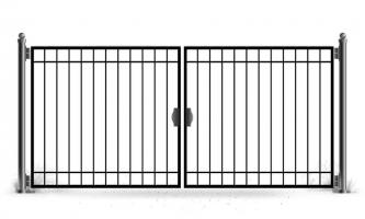 Ворота распашные vt-190